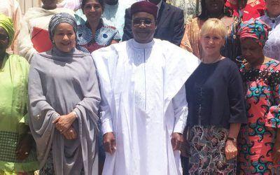 El liderazgo femenino: fundamental para Níger